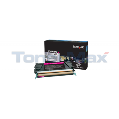 LEXMARK X748 TONER CARTRIDGE MAGENTA HY